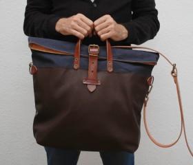 Weekend bag, navy color